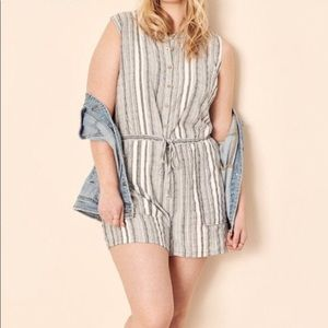 Universal Thread striped Romper